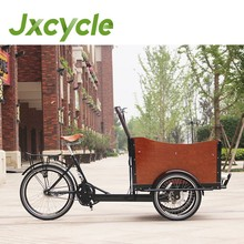 tricycle with two wheels in front