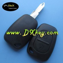 key remote maker 2 buttons auto blank key remote key shell for renault