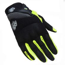Hot sales motorcycle gloves leather gloves online gloves with led lights