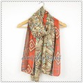 2015 border tribal aztec scarf shawl women high quality spring scarf
