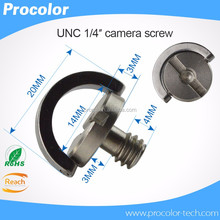 wholesale slotted tripod head camera mounting screws quick release plate screw