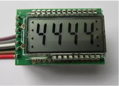 4bit HT1621 LCD module with Perspective: 6:<strong>00</strong>