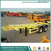 High Quality 40ft 3 Axle Skeletal