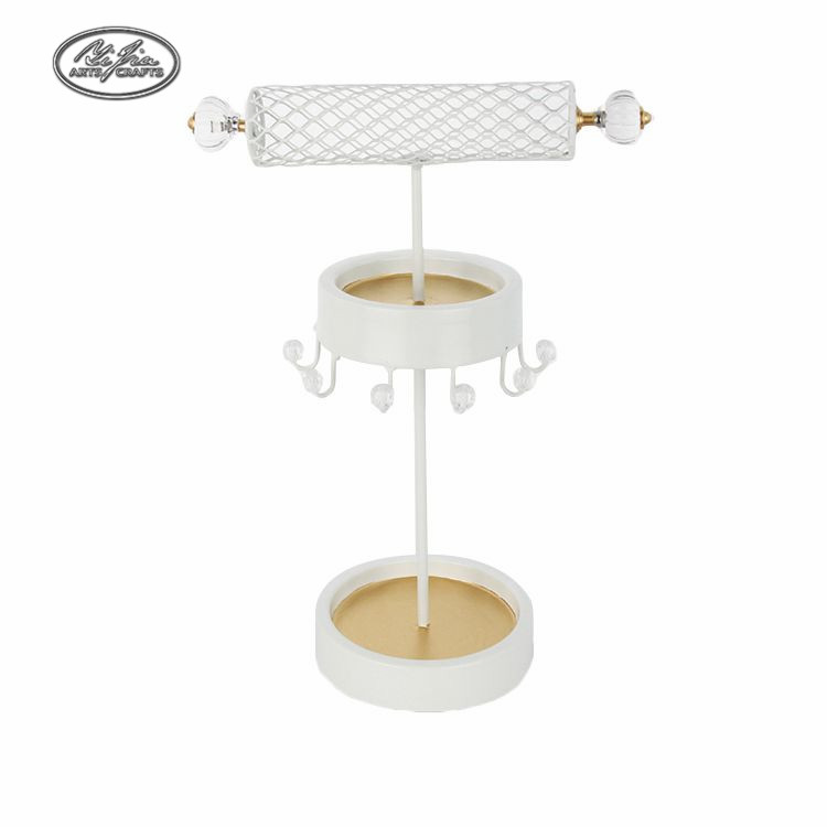 Wholesale customized good quality metal necklace and earring display stand