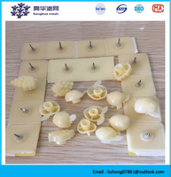 Curtain installation accessories, accessories, gluing, high-grade thread galling, iron glass walls buckle, made curtain accessor