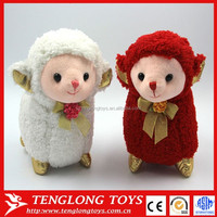 Happy new year gifts lucky sheep plush toys