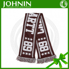 NEW Fashion 100% Acrylic weaving/knitted Cotton New Style Shawl Jacquard Weave Acrylic Sport Scarf