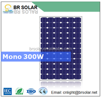300W 250W 200W 150W mono poly crystalline silicon luminous panel solar price