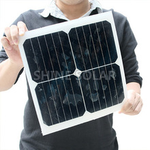 solar panel 9v 12w flexible solar module sunpower