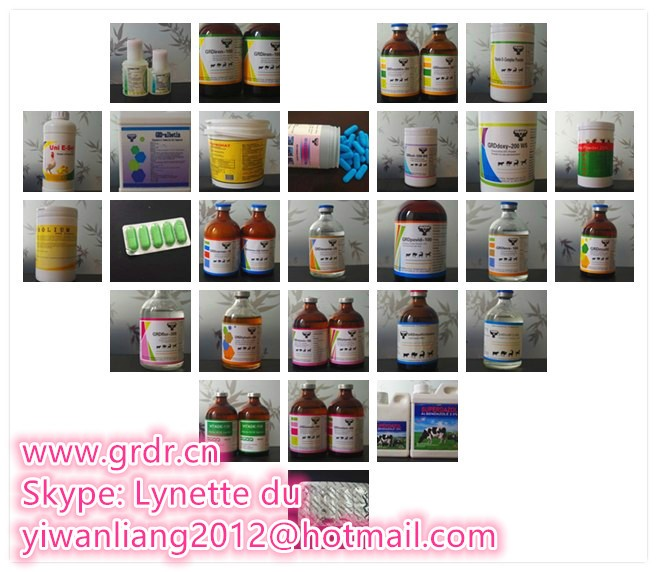 Ivermectin Injection 2% veterinary medicine factory with GMP certification