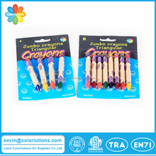 High quality double ended crayon in blister card
