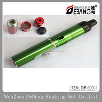 The lighter to burn cut tobacco and tobacco Wind metal aluminum lighter pipe