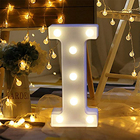 Alphabet Love Led Light Up Letters Standing A To Z Lighting Letters