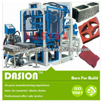 DSM4-45 manual small egg laying concrete block making machine for family or small factory to do business