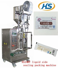 HS240Y multi-functional automatic liquid sachet packing machine for sauce and milk shake