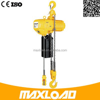 Selling Heavy Duty 6 Ton TUV Used Electric Chain Hoist/Electric Chain Block CE GS Approved Hoist
