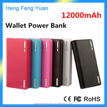 Factory Universal Portable Wallet Power Bank 20000 mAh Rechargeable Power Bank 20000mAh for Mobile Phone