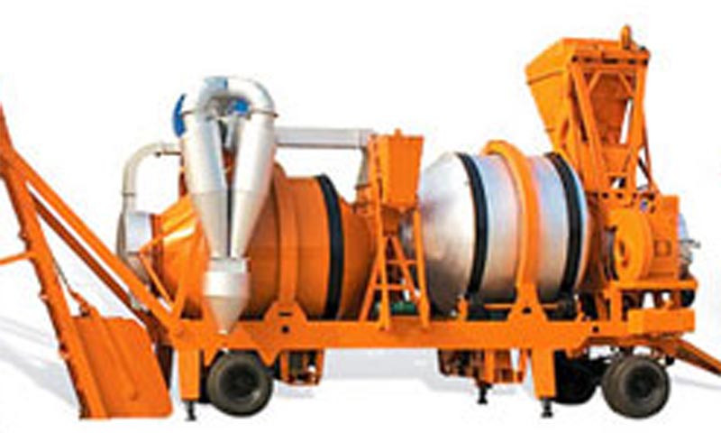 HLB-20, 20t/h Asphalt Mobile Hot Mix Plant