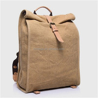 plain canvas backpack,school bags trendy backpack,high class student school bag