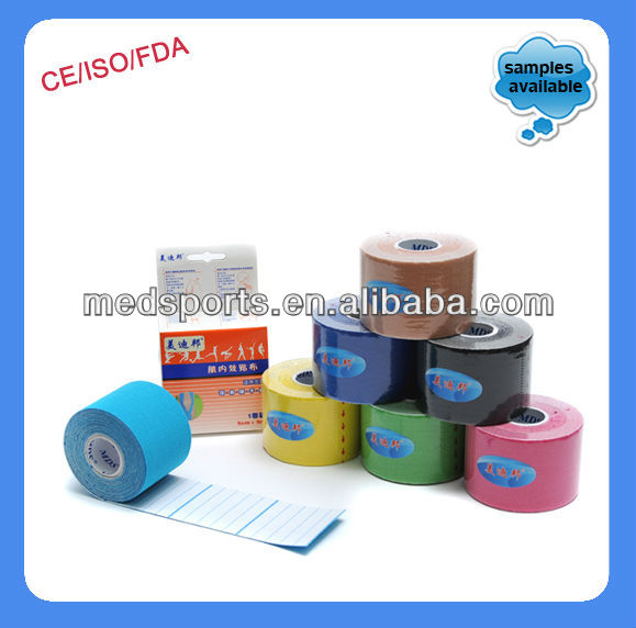 Colored Athletic Tape for Best Material (CE Approved)