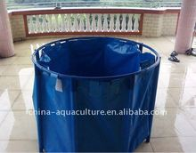 round foldable water tank