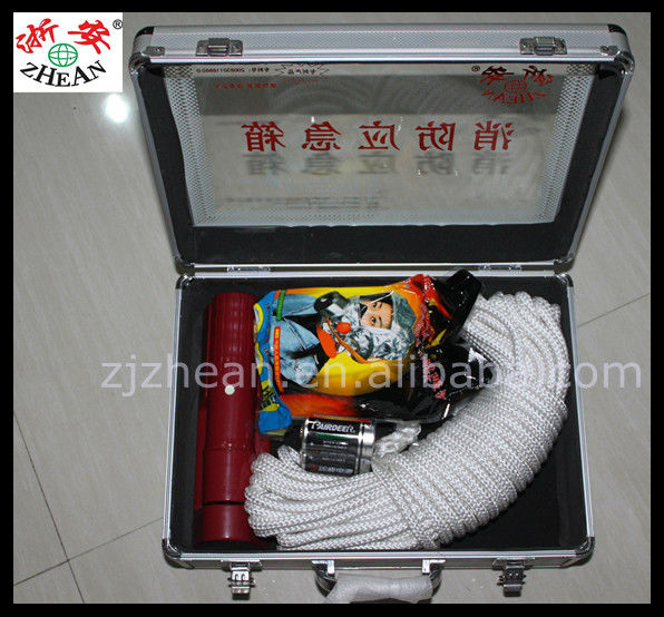 Rescue Equipment Device With Flashlight/Fire Escape Rope/Rescue Rope