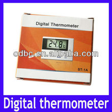 Fish bowl water temperature measure ST-1A Digital Thermometer with NTC sensors
