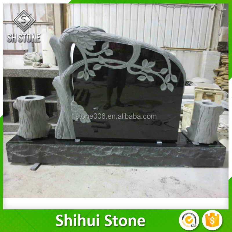 Various Size Good Looking Carved Granite Tombstone
