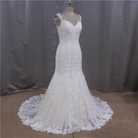 Surmount design fashion beautiful wedding dress made to measure dress from china