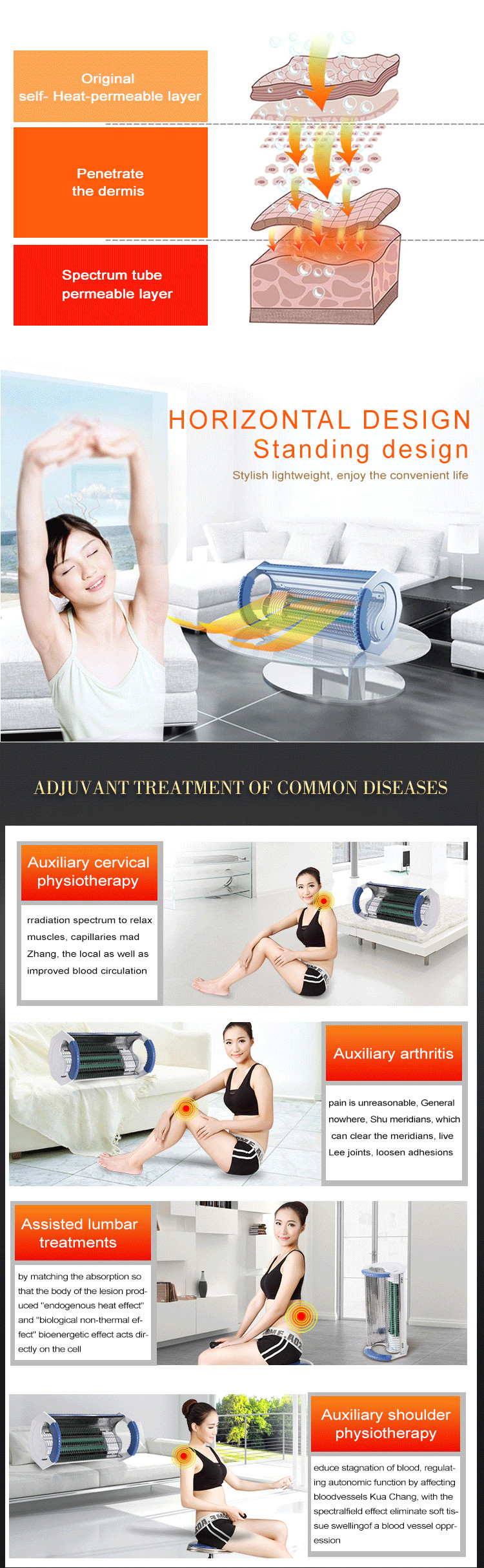 Home use diagnostic instruments properties electro acupuncture device