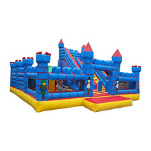 large customized commercial inflatable slide outdoor inflatable castle slide kids size inflatable slide bouncer with arch