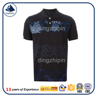 Vogue digital printing polo t-shirt dongguan factory