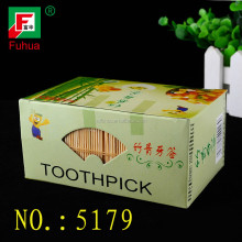 disposable eco hotel bamboo tooth sticks