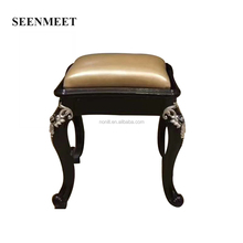 cheap plastic abs furniture velvet stool leg