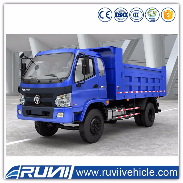 Ruvii 5 ton -15 ton china Rowor tipper/ Dumper / dump truck best price in china