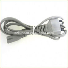 Europen computer power lead/power cord with male female plug