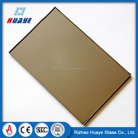 Low price clear coated heat reflective glass