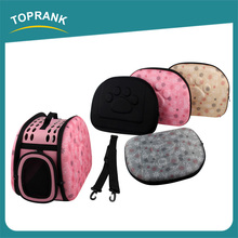 New design travel folding pet bag carrier, soft sided EVA airline approved pet carriers