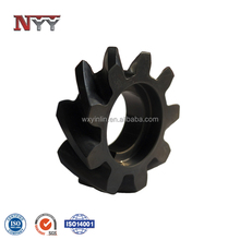 High precision helical cylindrical gear for oil pump