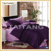 New arrival king size purple sexy bedding set