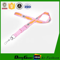 Customized design polyester phone lanyard as well as mobile string
