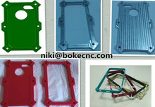 Hot sell cnc machining mobile phone shell valve metal parts/cnc aluminum anodise metal mobile case