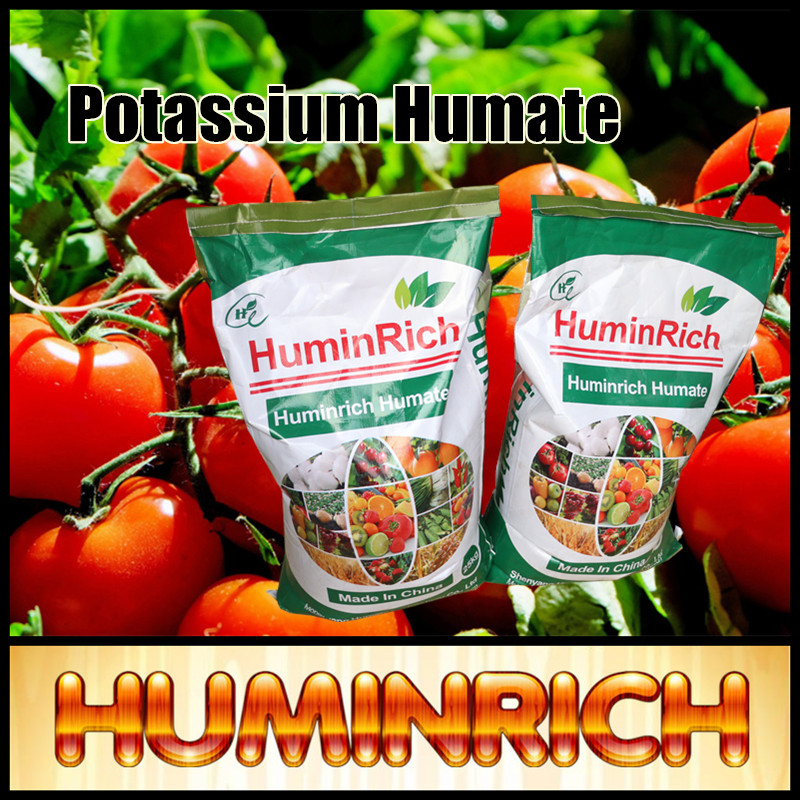 """HuminRich"" Humate Agriculture Fertilizer Potassium Humic Acid Organic Vitamin And Mineral"