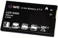 phone battery for lgip-430n ks360,kf300,kf330,kf240,kt520,lg