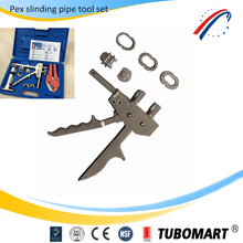pex tool with pex expander tool and pipe cutter set