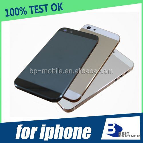 Color replacement for iphone 5s back cover case