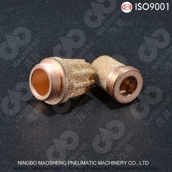 RSS Type Steel Nipple Plated Copper Muffler