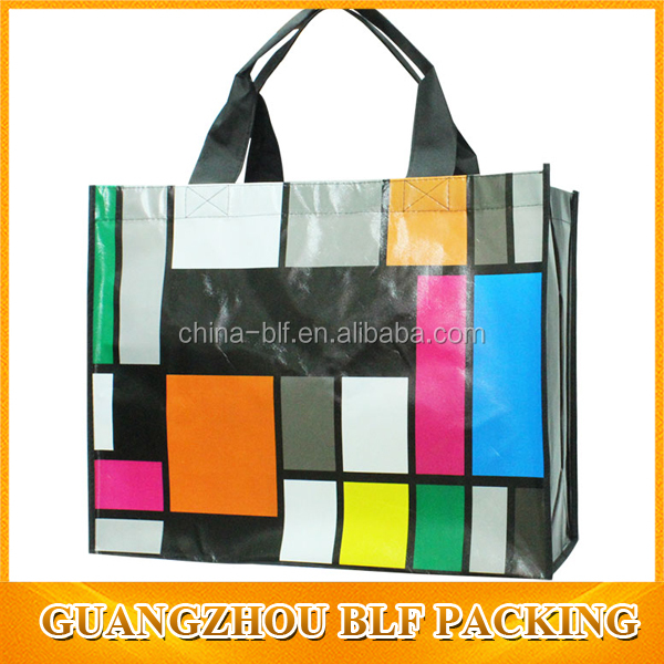 hot sale laminated nonwoven promotional bag