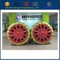 62 inch 160cm Inflatable Water Watermelon Slice Pool Water Float Summer Vacation Air Raft