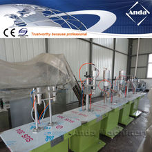 semiautomatic spray pu foam filling machine